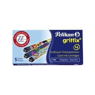 """Pelikan Großraum Tintenpatronen /""""Edelstein Ink Topaz/"""" 6 Patronen"""