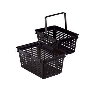 Symbolbild: Einkaufskorb SHOPPING BASKET 19, schwarz1801565040