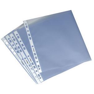 DURABLE PREMIUM Prospekthülle DIN A4 PP transparent 0,08 mm 50 Hüllen
