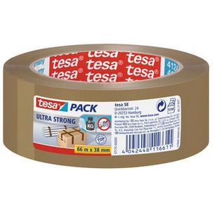Symbolbild: tesapack Verpackungsklebeband ultra strong, braun57175-00000-02