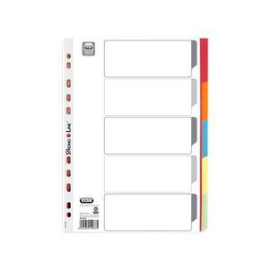 FALKEN Register Karton DIN A4 farbig 6-teilig 10-teilig 12-teilig 5 6 Farben