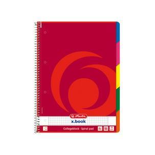 Collegeblock x.book DIN A4, kariert296491
