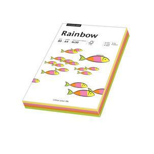 Multifunktionspapier Rainbow, Neonfarben-Mix88043191