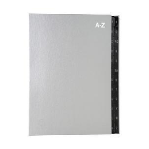 DIN A4 Z A schwarz PAGNA Pultordner 24 Fächer