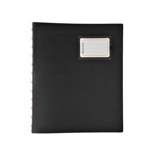 40 Hüllen DIN A4 EXACOMPTA Sichtbuch EXACTIVE schwarz