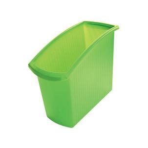 Papierkorb MONDO, grün1840-60