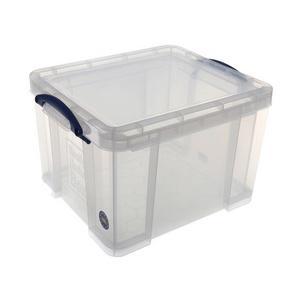 Aufbewahrungsbox 35 Liter, transparent klar35CCB