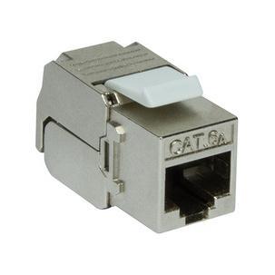 Keystone Modul Kat.6A, Klasse EA, geschirmt, schlanke BauformNK4003