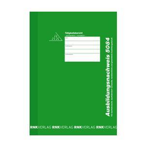RNK Verlag Ausbildungsnachweis-Block wöchentlich//monatlich