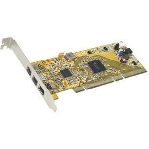 FireWire 1394a + b PCI Karte, 3 PortEX-6410
