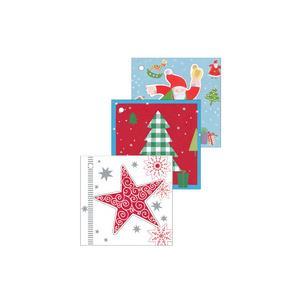 Weihnachts-Anhängerkarte, 3 Motive 11276516