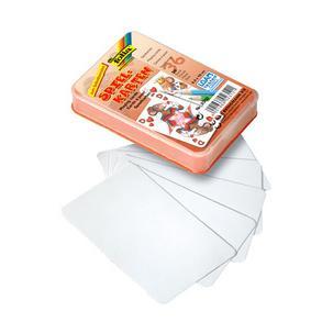 weiß folia Blanko-Memory-Karten 60 x 60 mm