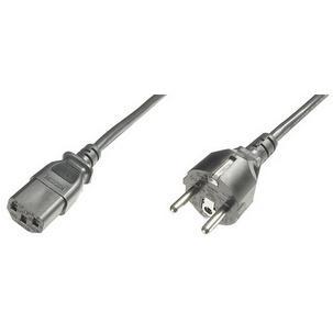 Stromkabel, Schutzkontakt-Stecker - IEC C13AK-440101-018-S