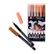 Manga-Set Koi Coloring Brush, 6er Etui
