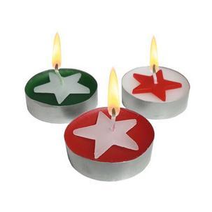 """Symbolbild: Weihnachts-Teelichter """"Star""""40014524"""