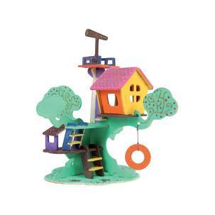 "3D Puzzle ""Baumhaus"", Anwendung0317000000011"