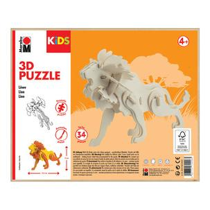 "3D Puzzle ""Löwe"", Verpackung0317000000022"