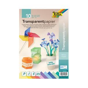 10 Blatt sortiert Bastelmappe Transparentpapier Spielzeug