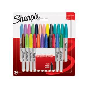 Sharpie Permanent-Marker FINE 24er Blisterkarte
