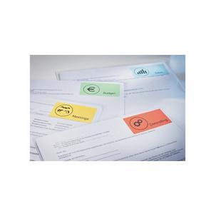 100 Blatt Kores Universal-Etiketten 105 x 74 mm weiß