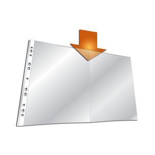 Symbolbild: Prospekthüllen, DIN A32671-19