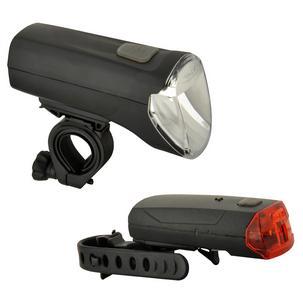 Fahrrad LED-Beleuchtungs-Set 60/30/15 Lux85347