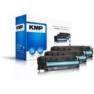 Kmp toner hp cc531a-533a multip. 2800 s. h-t122cmy remanufactured (1218,0030)