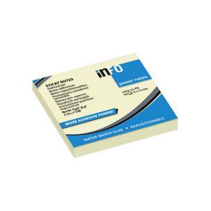 Haftnotizen Power Notes, 75 x 75 mm5654-01-PN