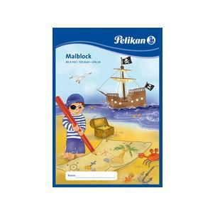 Symbolbild: Malblock, Motivbeispiel Pirat137661