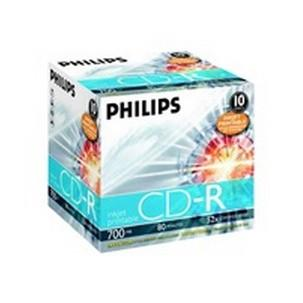 PHILIPS 10x CDRCR7D5JJ10/00