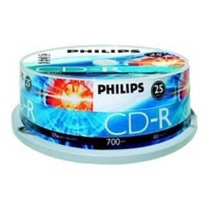 PHILIPS 25x CDRCR7D5NB25/00