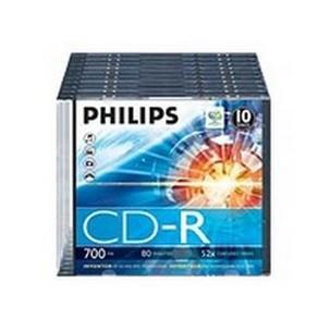 PHILIPS 10x CDRCR7D5NS10/00