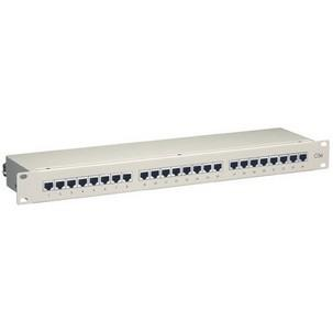 "19"" Patch Panel, geschirmt 16/24 Port 327324"