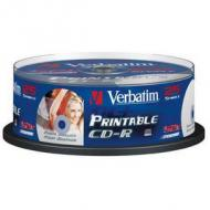 Verbatim Extra Protection CD-R, 700 MB, 52x, 25er Spindel 80 Minuten, ExtraProtection Surfa (43432)