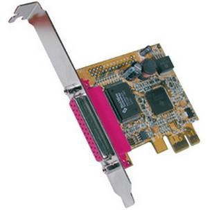 Parallel SPP / EPP / ECP PCI-Express KarteEX-44010