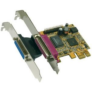 Parallel SPP / EPP / ECP PCI-Express Karte EX-44012