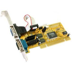 Serielle 16C550 RS-232 PCI Karten, 2 PortEX-41052