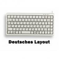 Cherry keyboard g84-4100 de grey (g84-4100lcmde-0) (G84-4100LCMDE-0)