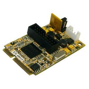 USB 3.0 Mini PCIe-Karte (NEC), 2 PortEX-48010