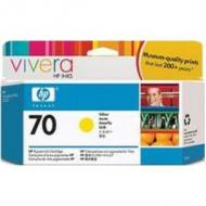 Original Vivera Tinte HP 70 (C9455A) für hp, magenta light Inhalt: 130 ml DesignJet 2100 / 3100 / Z3100 / Z3100GP (C9455A)