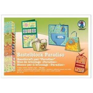 """Fotokarton-Bastelblock """"Paradiso""""12250099"""