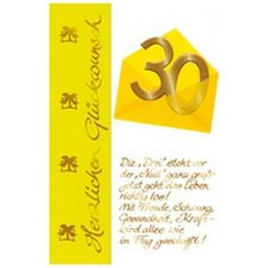 Motiv: 30. Geburtstag - Briefumschlag11210036