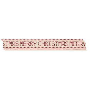 "Weihnachts-Geschenkband ""Merry Christmas"""