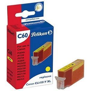 Multi-Pack Tinte für Canon PIXMA iP7250 gelb4111203