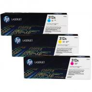 HP 312A CYM Toner multipack (CF440AM)