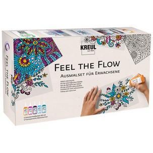 "Window Color ""Feel the Flow"", Ausmalset für Erwachsene22700"