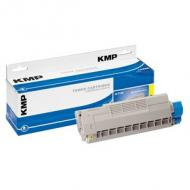 Kmp toner oki 44315305 yellow 6000 s. o-t34 remanufactured (1334,0009)